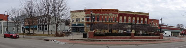 Photo of Downtown Council Bluffs in County Properties Slide Show